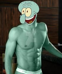 Sexy Squidward by NikaChonda