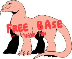 Free Steppe Wyrm Base (Now with PNGs available!) by illinoisy