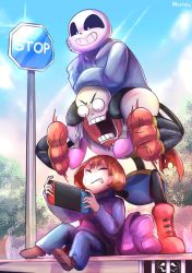 Undertale - Switch on Determination by Marini4