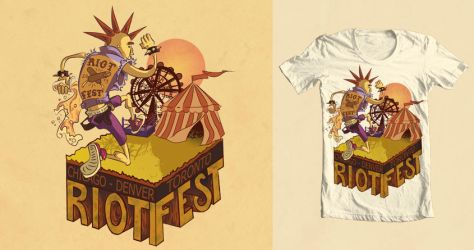 Riot Fest Contest by irethlasombra
