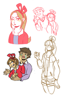 Nuzlocke sketches 05 by Jell--O