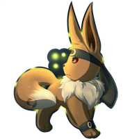 Eevee Charms: Umbreon by KitsuGuardian