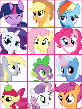 MLP User Icons Vol. 1 by ShelltoonTV