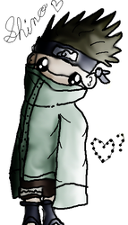 Aburame Shino by The-Little-Squid