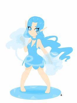 Summoners War Water Fairy by Sereofchaos