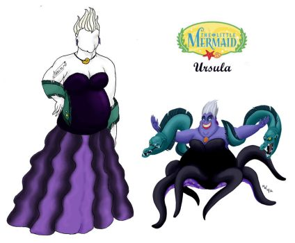Outfits Inspired: Ursula by Spastic-Squirrel