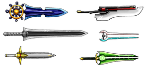 A Variety Pack of Swords by Scatha-the-Worm