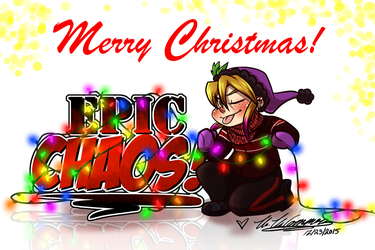 Have an EPIC Christmas 2015 by ArtByMelissaM