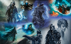 Jace Beleren collage by Kennysorel