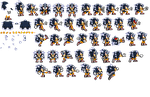 Sonic Fase 4 Ssxu Sprite Preview by JaseTheHedgehog16