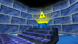 Triforce room with Triforce by kargaroc586
