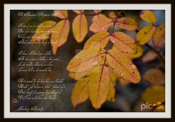 The Autumnal Romance by marnie1990