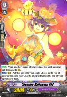 Cheering Halloween Kid - Vanguard Card by Nedliv