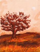 Red Tree by JKAM2