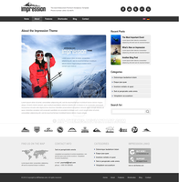 About Subpage of Impression WP Theme by ait-themes