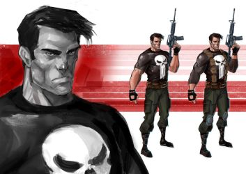 THE PUNISHER_005 by IttoOgamy