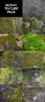 Texture - Moss by ChimeraDragonfang