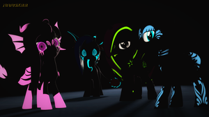 Glowy Pones by Narox22