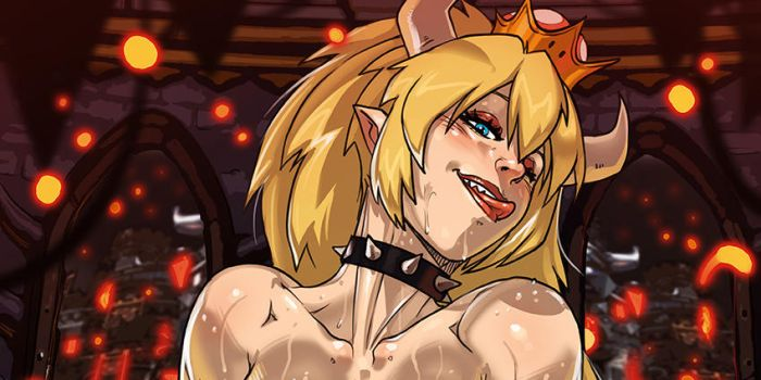 Bowsette promo commission by Ganassa