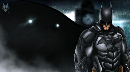 BATMAN by TheBatDraws