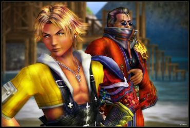 Tidus and Auron 01 by mylochka
