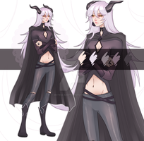 DEMON HUNTER ADOPTABLE AUCTION CLOSED by miotess-adopts