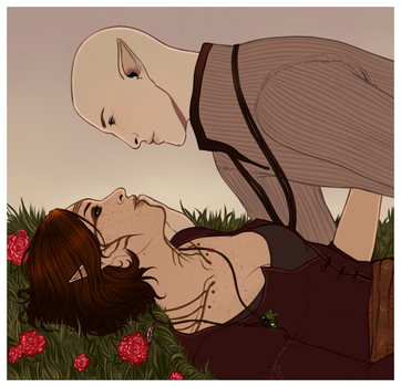 DAI: Trace the Lines {Solavellan} by LadyTheirin