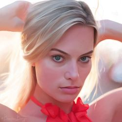 Margot Robbie by brentonmb