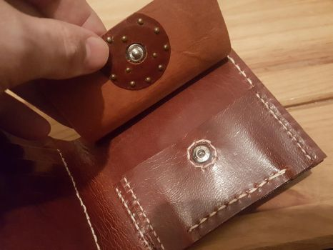 Targaryen hand crafted wallet, inside close up by Bubblypies