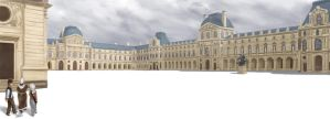 The Louvre by K-Bladin