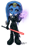 Chibi Darth Nekosch by ryumo
