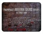 MM Industrial Grunge Textures by MagpieMagic
