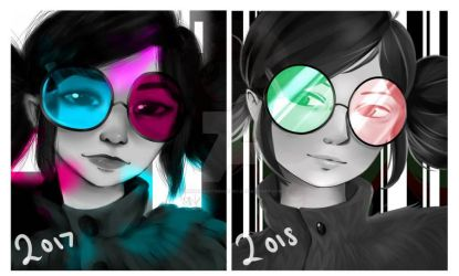 Redraw of Noodle! :D by HannahVictoriaBibby