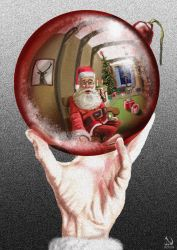 Escher Claus by JaimeNieves
