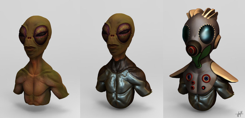 Alien Concept by Jeyfro