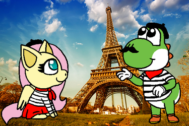 Around The World 1- Paris, France by flutteryoshi952
