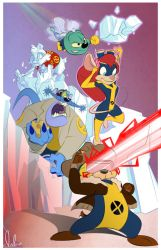 Chip 'N' Dale X Rangers by Whatyawant
