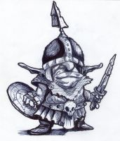Goblin Warrior by MiltonCamargo64