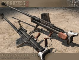 Boys Anti-Tank Rifle by McGibs