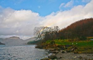 Rainbow on the Loch by BusterBrownBB
