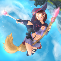 Magic Academy Awilix Splash by BookmarkAHead