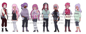 Haruno adoptables - One left by zombie-adoptables