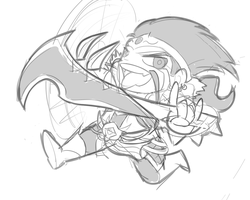 Chibi Draven Sketch by KittyConQueso