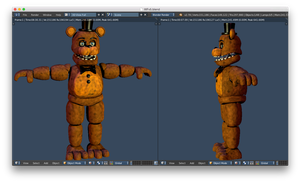 Withered Freddy costume base complete by CoolioArt