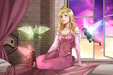Sleeping Beauty by DuckLordEthan