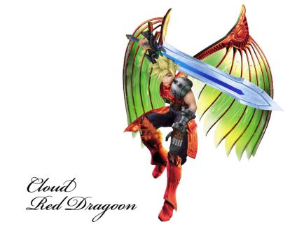 Cloud Red Dragoon by Ronin147
