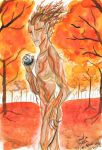 Gariel in Autumn - La descendance profane by K-naille