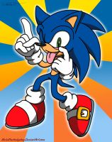 Contest Prize: Sonic sillyact by Metal-CosxArt