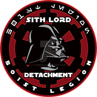 Sith Lord Detachment logo by JTampa