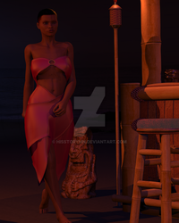 WIP V1:A Night In the Bahamas by hisstorymn